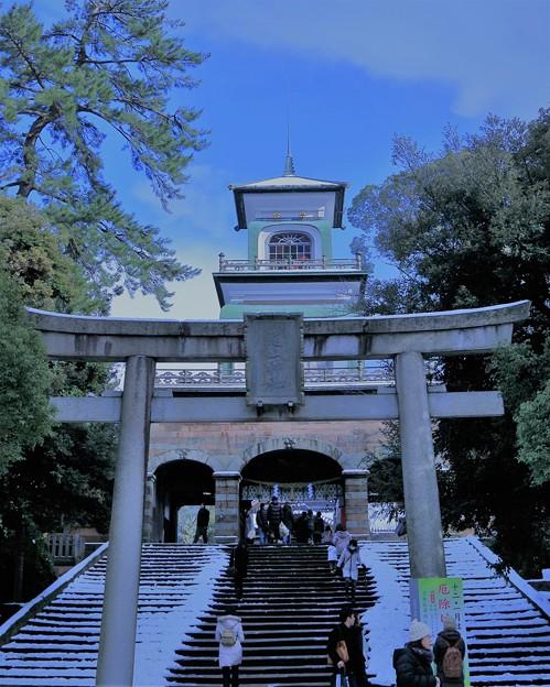 尾山神社 神門