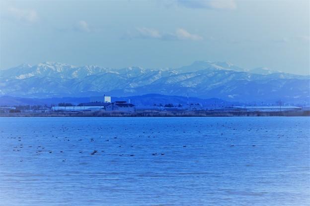 白山と河北潟