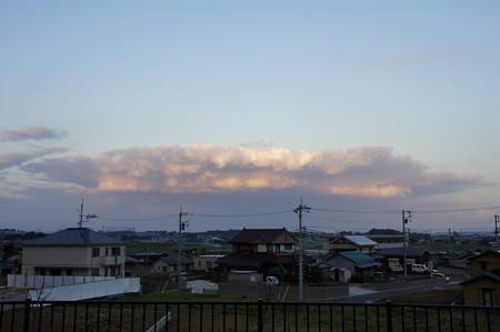 積乱雲のトリコロール