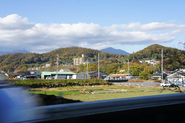 秋の日の弘法山