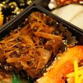 写真: 練馬山椒と鮪の角煮