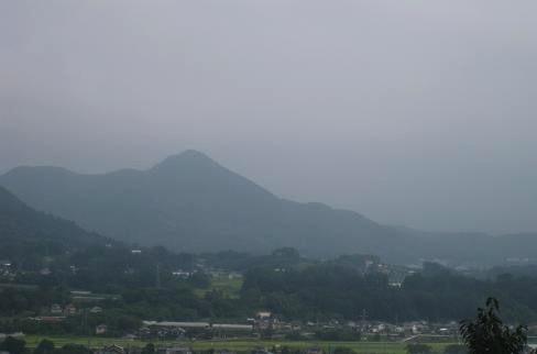 戸神山 遠景