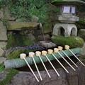 石上神宮 手水舎