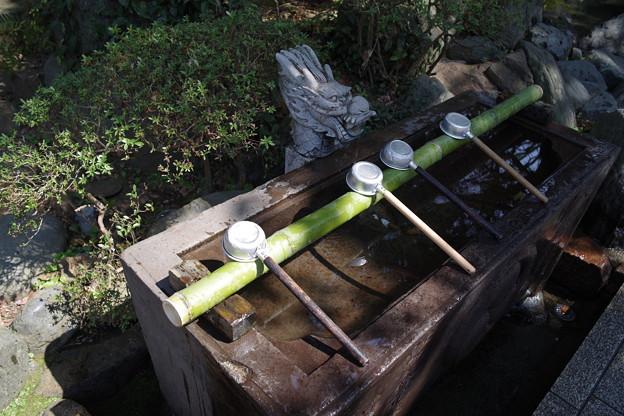 江島神社 手水舎 ‐ 2