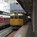 Photos: 115系 岡山駅