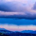 写真: 王ヶ頭の夕富士