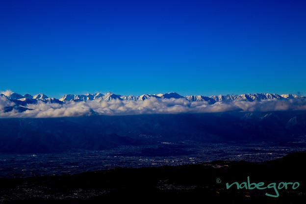 絶景立山連峰