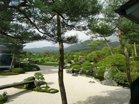 足立美術館・庭園1