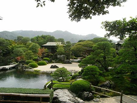 島根・足立美術館・庭園7