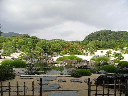 島根・足立美術館・庭園8
