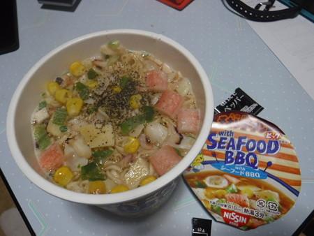 チキンラーメン with Seafood BBQ