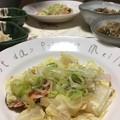 塩鮭と白菜のフライパン蒸し