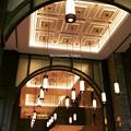 写真: 天井と照明