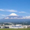 写真: 初冠雪 2014.10.16 9:18am