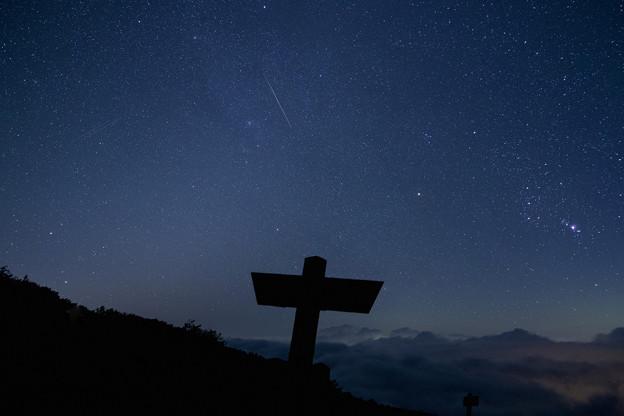 ペルセウス座流星群の夜(2)