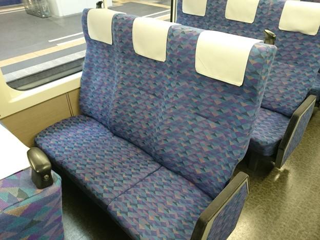 E4系 自由席 座席