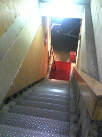 ブランニュー思い出の階段。