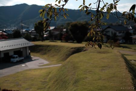 19松代城_隅櫓からみる土塁-0665