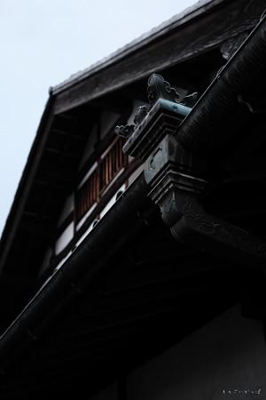 日野宿本陣_08雨樋-0143