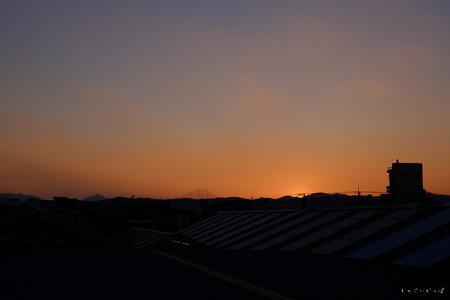 富士夕景-2623