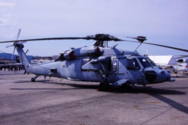 アメリカ海軍 NAVY HSC25アイランドナイツ MH60ヘリ・・