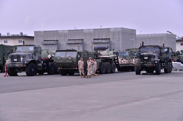 アメリカ海兵隊のさまざまな特殊車両・・