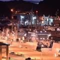 逸見岸壁の夜・・横須賀基地・・20140518
