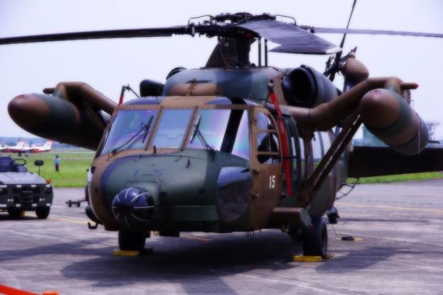 木更津のUH-60JAブラックホーク・・