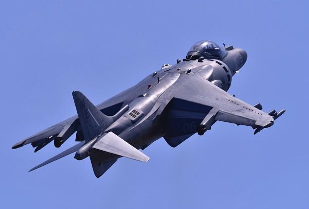 ハリアー機動飛行  フォバーリングから一気に上昇。。5月5日