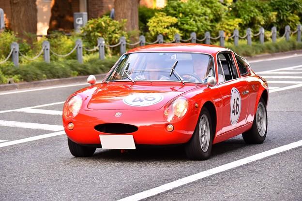 RALLY YOKOHAMA 名車 FIAT ABARTH 1000BIALBERO。。20160521