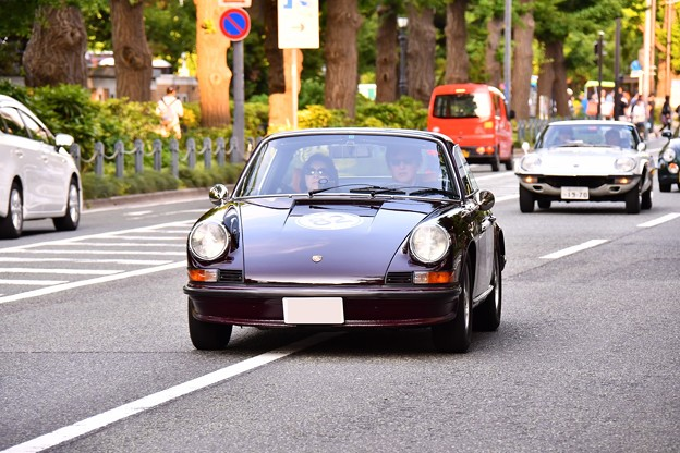 RALLY YOKOHAMA 名車 ポルシェ911S TARGA。。20160521