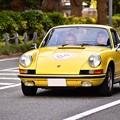 RALLY YOKOHAMA 名車 ポルシェ 911T in山下公園