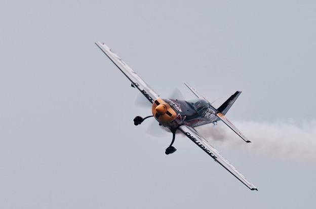 レッドブルエアレース。。チャレンジクラス クイックに機体揺らして。。20160605