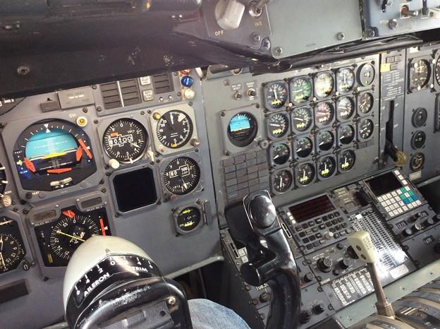 ボーイングB747-200のコックピット。。セクション41。。20160626