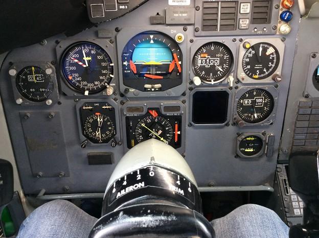 ボーイングB747-200の意外に狭い操縦席。。セクション41。。20160626