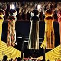 魂を迎え入れる靖国神社の飾り。。みたままつり 20160716