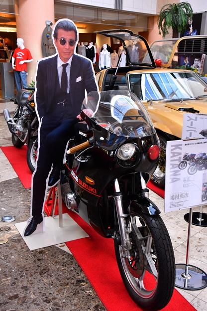 館ひろし演じる鳩山刑事の西部警察仕様のバイク。。20160724