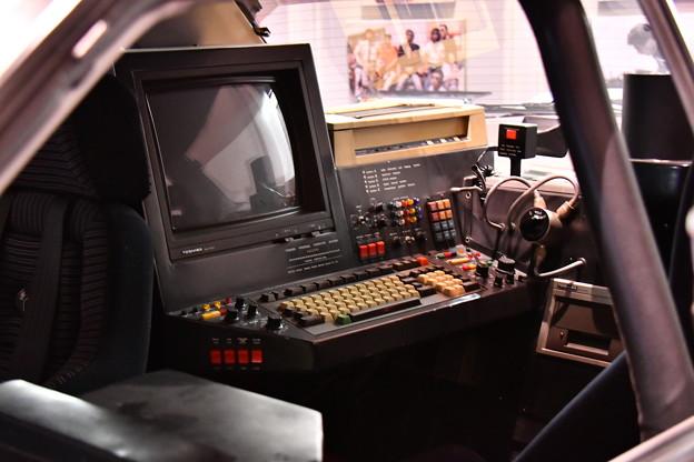 西部警察マシン。。RS-3の車内コンピューター