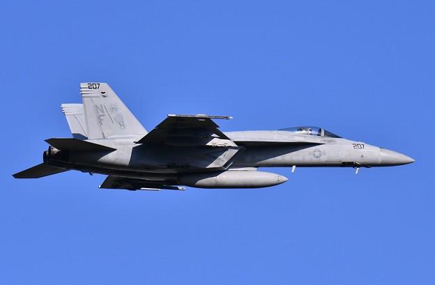 撮って出し。。ロイヤルメイスNF-207。。空母へフライイン 9月4日
