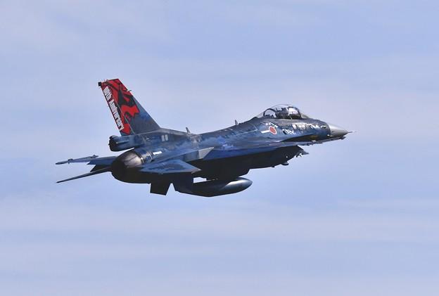 撮って出し。。三沢基地航空祭 目玉。。三沢のF-2スペシャルマーキング機登場上がり 9月11日