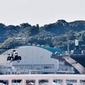 海上自衛隊横須賀基地から陸自のコブラ上がり。。20160806
