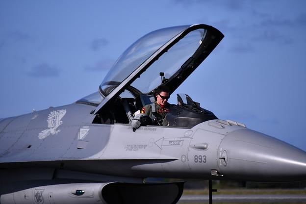 F-16デモストレーションチーム パイロット