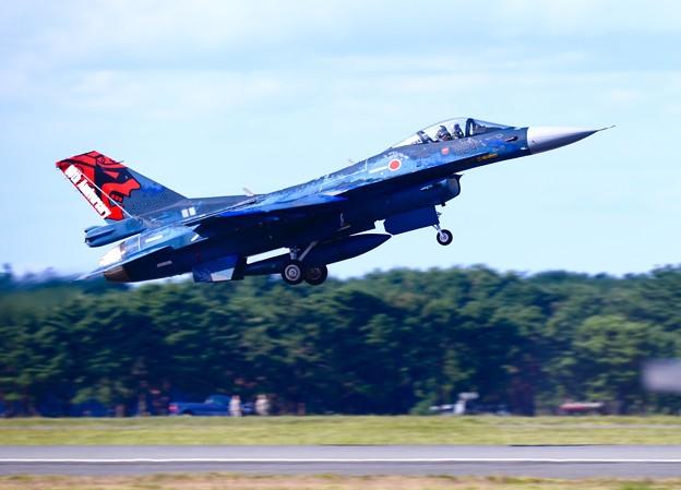 三沢基地航空祭 オオトリ第3飛行隊スペマ機機動飛行 。。