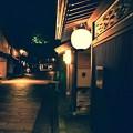 夜静かなひがし茶屋街の通り。。20160918