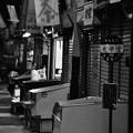 モノクロの風景 北九州小倉 旦過市場 昭和時代が残る 20161007