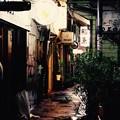 昭和時代の匂いを感じる福岡県中洲 人形小路路地裏 20161008