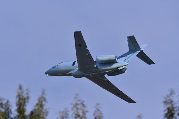 岐阜基地航空祭。。旋回する搜索機U-125A。。