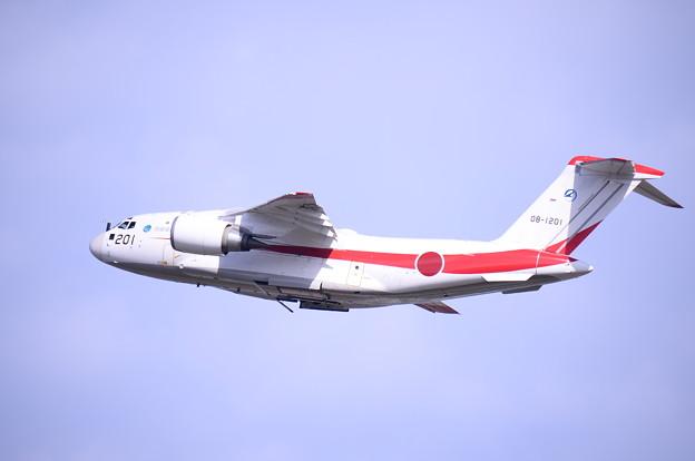 岐阜基地航空祭。。飛行開発実験団XC-2テイク・オフ。。