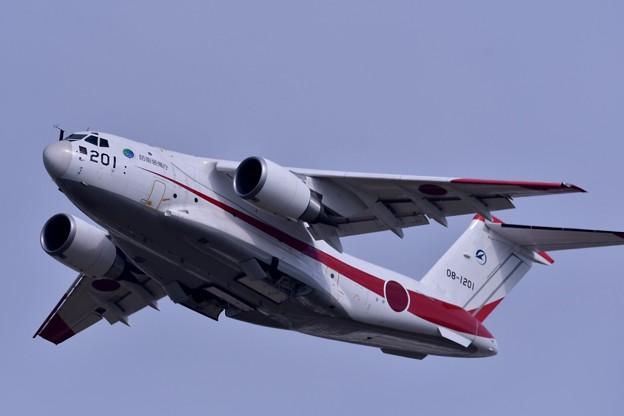 岐阜基地航空祭。。XC-2タッチ&ゴー。。