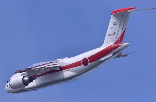 岐阜基地航空祭。。飛行開発実験団XC-2機動飛行。。